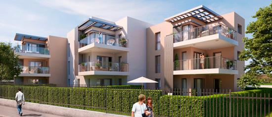 Programme immobilier neuf - Saint-Raphaël - Résidence Maya