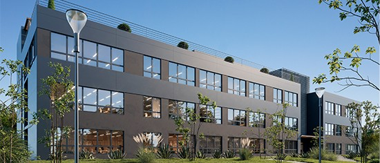 Programme immobilier neuf - Calypso - immeuble de bureaux - saint-herblain