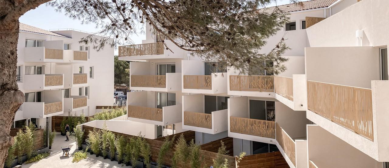 Programme immobilier neuf l'écrin bleu - Balaruc-les-bains