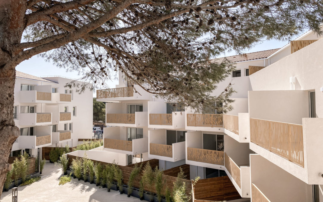 Programme immobilier neuf - livraison - Résidence L'Écrin Bleu - balaruc-les-bains