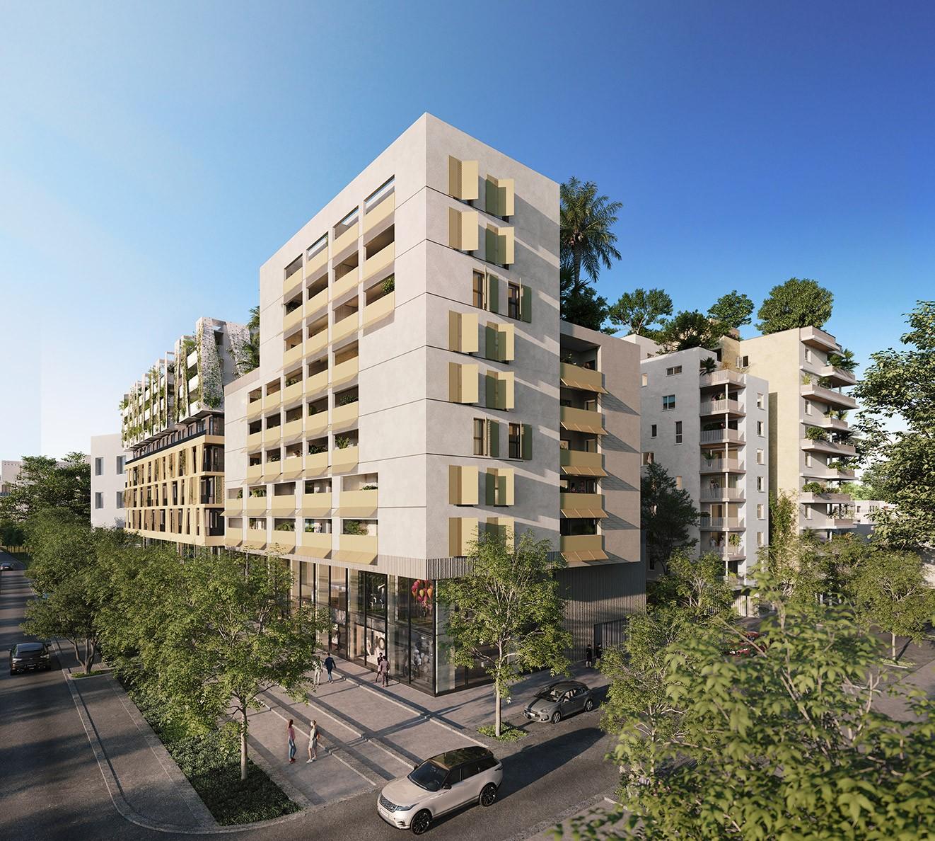 Odyssée Rive Gauche Le Mirage Montpellier Port Marianne immobilier neuf terrasse