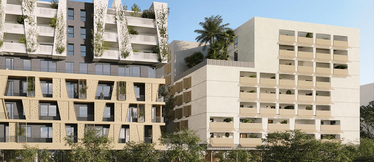Programme immobilier neuf résidence Ambre sainte maxime